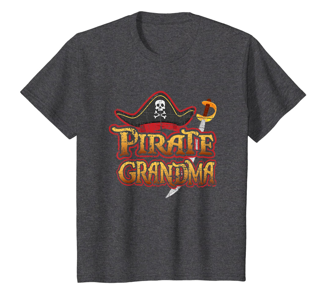 Pirate Grandma T Shirt Birthday Party Cruise Night Skull