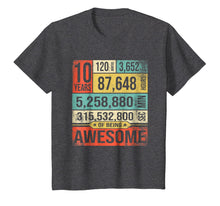 Load image into Gallery viewer, Birthday Countdown 10th Years Old Being Awesome 2009 T-Shirt