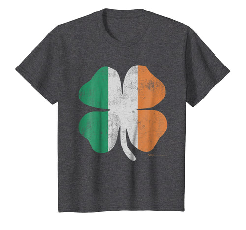 Vintage Irish Shamrock Flag St. Patrick's Day T Shirt