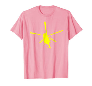 Libertarian chopper Tshirt for Voluntaryist ancap Helicopter