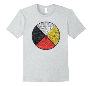 Native American Words Of The Medicine Wheel 1 T-Shirt