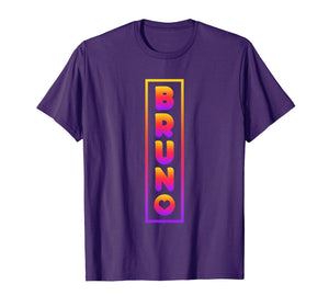Bruno Lover Heart T-Shirt Gradient Color Style