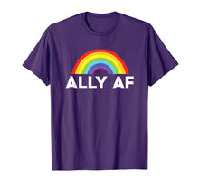 Load image into Gallery viewer, Ally AF Pride T Shirt - Proud Ally