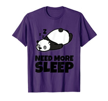 Load image into Gallery viewer, Sleepy Panda Bear Lover Animal Kids Men Women Youth T Shirt