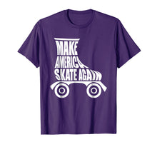 Load image into Gallery viewer, Make America Skate Again Roller Skating Cute T-Shirt