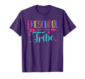 Back to School Team Preschool Teacher Tribe School shirt