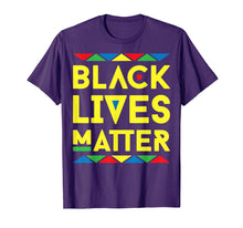 Load image into Gallery viewer, Black Lives Matter Equality Black Pride Melanin Shirt Gift