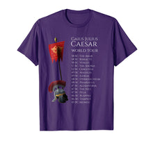 Load image into Gallery viewer, Ancient Rome T-Shirt - Gaius Julius Caesar World Tour
