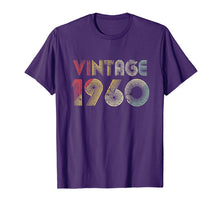 Load image into Gallery viewer, Retro Vintage 1960 TShirt 59th Birthday Gifts 59 Years Old