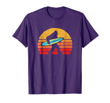 Load image into Gallery viewer, Bigfoot Silhouette & Surfboard - Sasquatch Surf & Sun Shirt