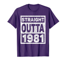 Load image into Gallery viewer, Kids Straight Outta 1981 T-Shirt 38th Birthday Gift T-Shirt