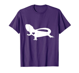 Beardie Lovers Gift- I Love My Bearded Dragon T-Shirt