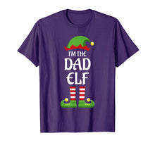 Load image into Gallery viewer, Mens I'm The Dad Elf Family Matching Group Christmas Gift Daddy T-Shirt