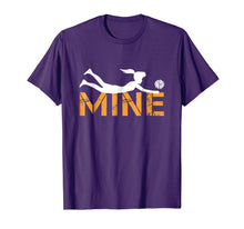 Load image into Gallery viewer, Love Volleyball Mine T Shirt - Funny Volleyball Shirt