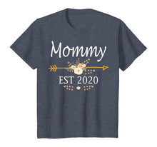 Load image into Gallery viewer, Mommy Est 2020 Shirt New Mommy Gift Thanksgiving Christmas T-Shirt