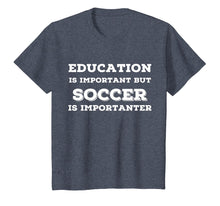 Load image into Gallery viewer, Joke Soccer T Shirts. Fun Gag Gifts for Soccer Players.