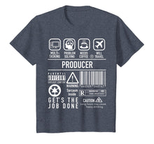 Load image into Gallery viewer, Producer Shirt - Film Executive T Shirt Gift for Movie Buffs