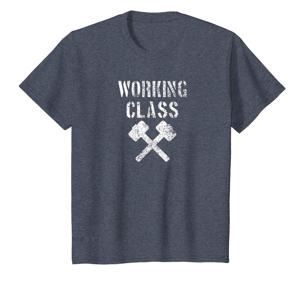 Vintage Distressed Blacksmith Hammers Working Class Shirt
