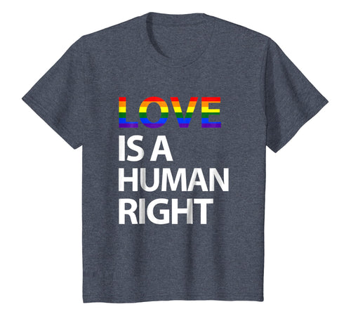 Love Is A Human Right LGBT Gay Pride March Gift T Shirt