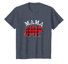 Load image into Gallery viewer, Red Plaid Mama Bear Matching Buffalo Pajama Shirt