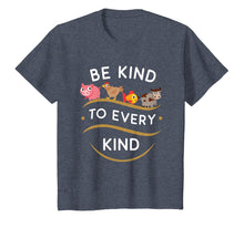 Load image into Gallery viewer, Be Kind To Every Kind Vegetarian Vegan T-Shirt