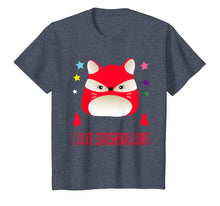 Load image into Gallery viewer, I Love Squishmallows Red Fox Birthday Squishy Shirt
