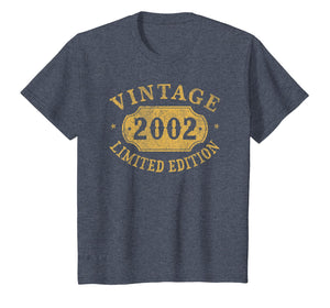 2002 17 years old 17th B-day Limited Birthday Gift T-Shirt
