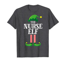 Load image into Gallery viewer, Nurse Elf Matching Family Group Christmas Party Pajama T-Shirt