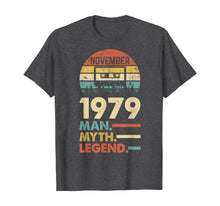 Load image into Gallery viewer, November 1979 Vintage 1979 40th Birthday 40 years old Gift T-Shirt