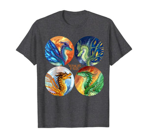 All Dragon Heroes Of The Lost Continent T Shirt