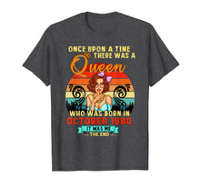 Load image into Gallery viewer, A Queen Was Born In October Girl 1980 Happy Birthday T-Shirt