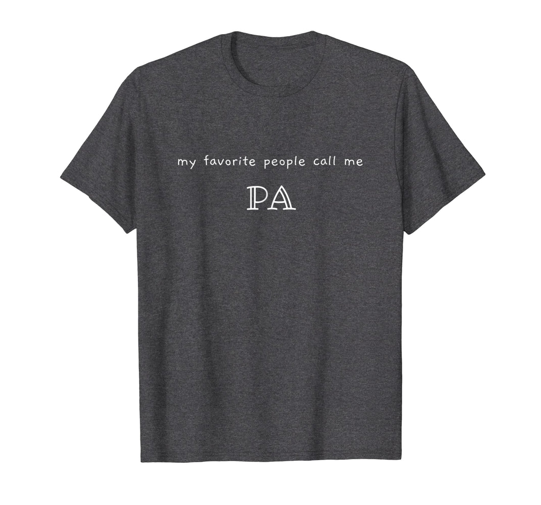 Mens Fun dad shirt- PA - father's day, Newman Works, grandpa gift