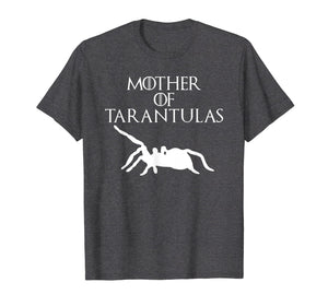 Cute & Unique White Mother of Tarantulas T-shirt E010521