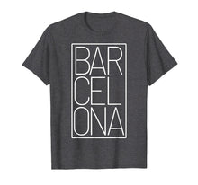 Load image into Gallery viewer, Barcelona t-shirt Souvenir visiting Catalonia Spain Europe