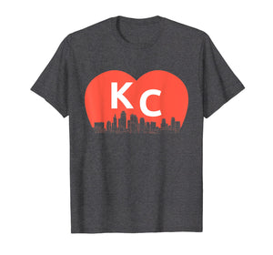 KC Heart Vintage Kansas City Cityscape Shirt