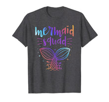 Load image into Gallery viewer, Mermaid Squad Matching Birthday Party T-Shirt