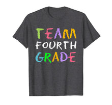 Load image into Gallery viewer, Team 4th Fourth Grade School T-Shirt