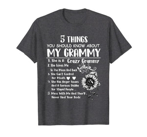 5 things you should know about my grammy T-shirt