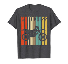 Load image into Gallery viewer, Cool Vintage Motocross Dirt Bike Silhouette T-Shirt