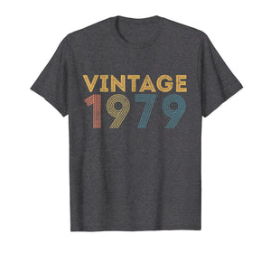 1979 Vintage Funny 40th Birthday Gift T Shirt