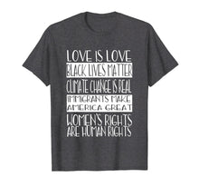 Load image into Gallery viewer, Love Is Love Black Lives Matter Equality Feminist Shirt