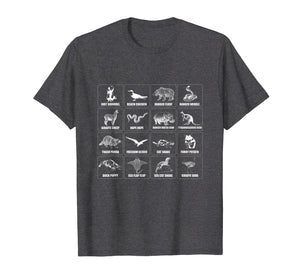 Animals Of The World T Shirt Kids Men Women Internet Meme