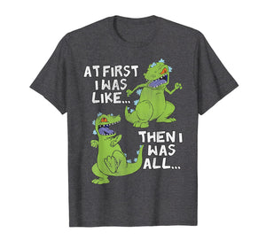 Rugrats Reptar At First I Was Then I Was Graphic T-Shirt