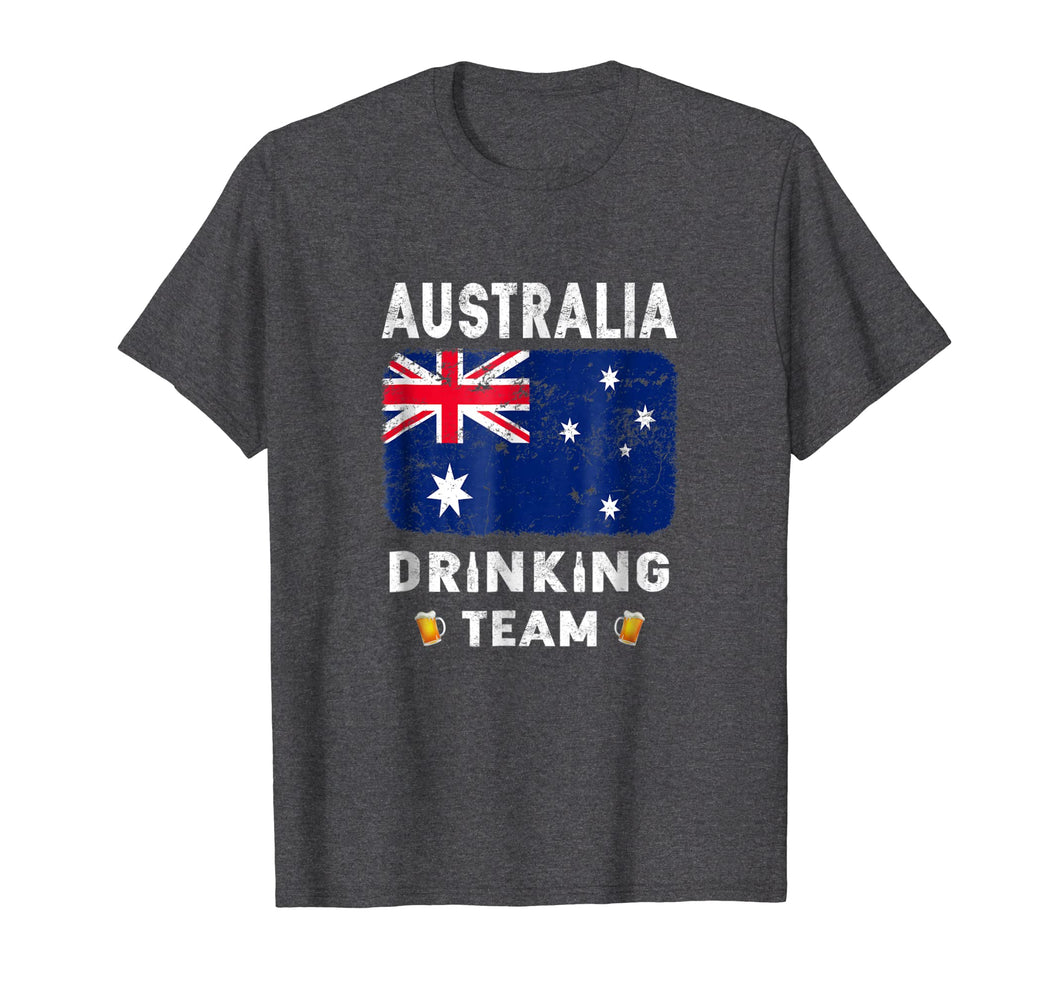 Australia Drinking Team Country Alcohol Beer T Shirt