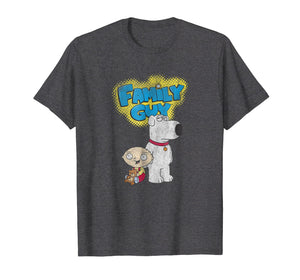 Family Guy Brian and Stewie T-shirt
