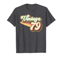 Load image into Gallery viewer, 40th Birthday Retro Gift Graphic Vintage 1979 Shirt