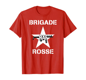 RAF Brigade Rosse T-Shirt Red Army Faction Baader-Meinhof T-Shirt