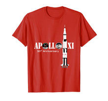 Load image into Gallery viewer, Apollo 11 50th Anniversary Moon Landing Science Lover Shirt