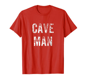 Caveman T-Shirt funny Costume Party humor cool Cave Rescue