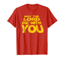 Load image into Gallery viewer, May the Lord Be With You T-Shirt Christian Christmas Gifts